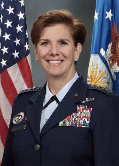 U.S. AIR FORCE GENERAL LORI J. ROBINSON MARCH 2017 001