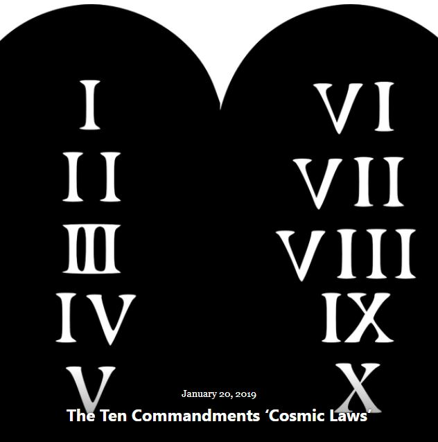 BLOG TEN COMMANDMENTS CL JAN 20 2019