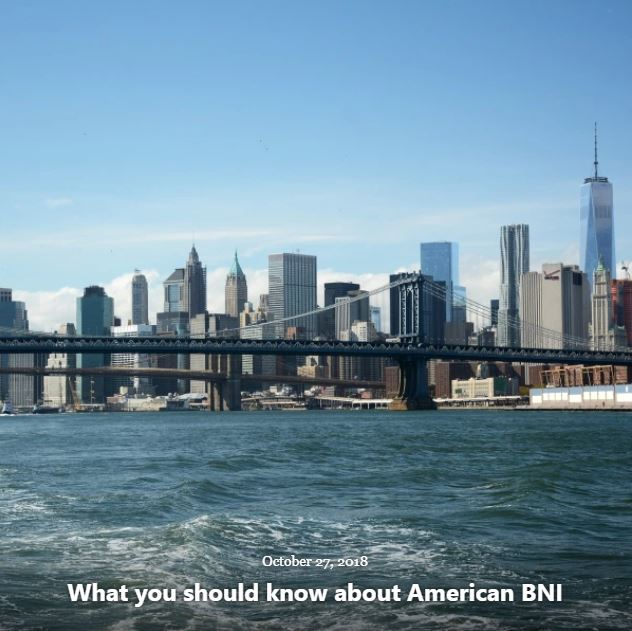 BLOG WHAT YOU SHOULD KNOW ABOUT BNI OCT 27 2018