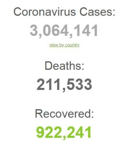 CORONA VIRUS DEATHS IN WORLD WORLDOMETER 280420 001