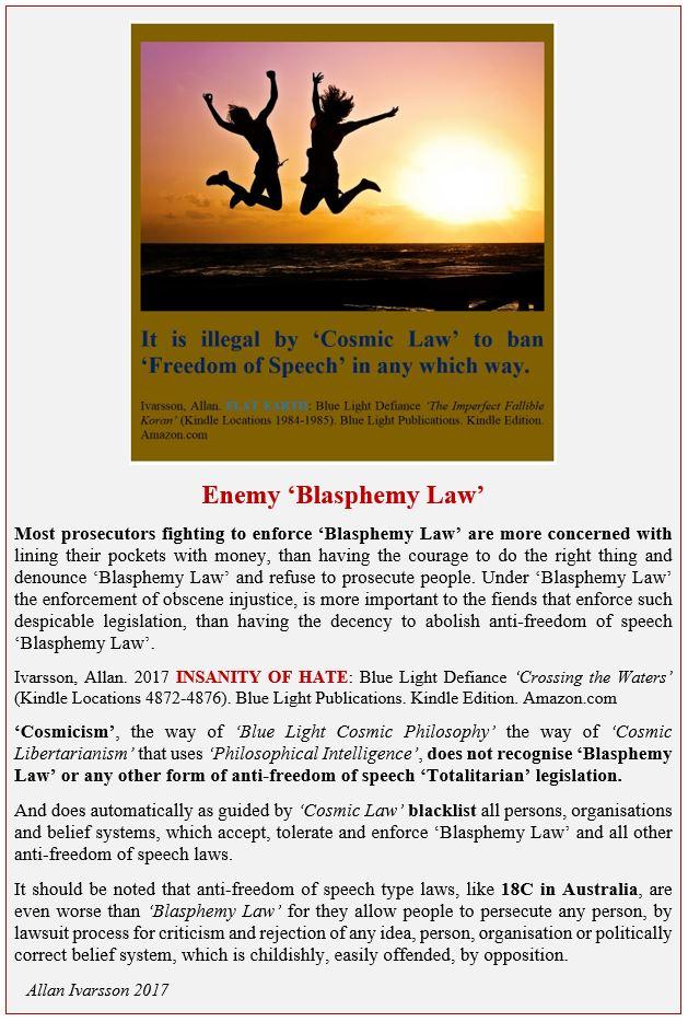 BLASPHEMY LAW PROSECUTORS POSTER 2017 IMAGE 001
