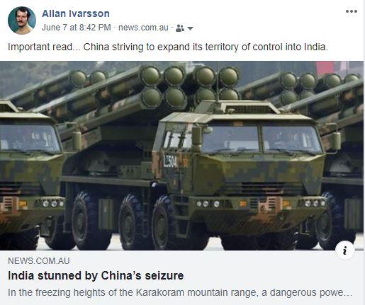 COMMUNIST CHINA SEIZED INDIAN TERRITORY JUNE 2020 001