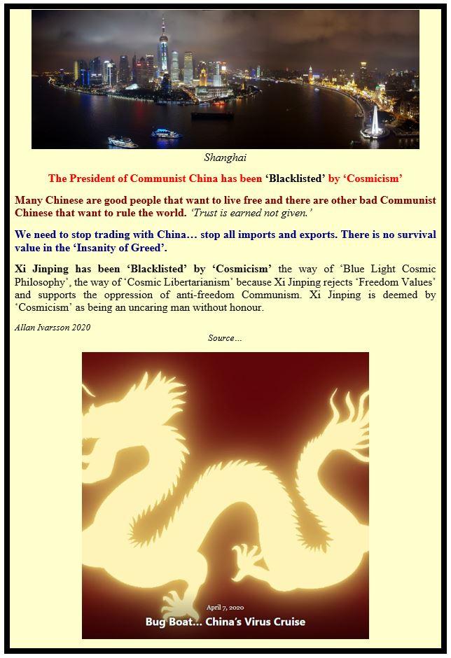 COMMUNIST CHINA VERSUS FREEDOM POSTER IMAGE 2020 003