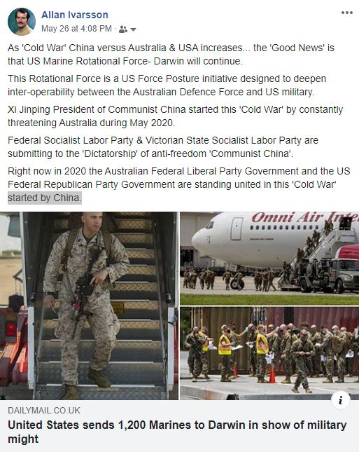FB CHINA THREATENS AUSTRALIAN EXPORT TRADE 260520 005
