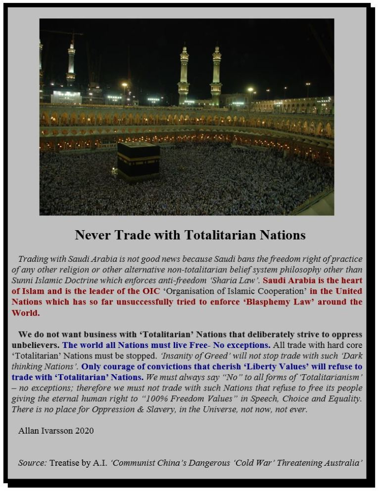 NEVER TRADE WITH TOTALITARIAN NATIONS POSTER IMAGE 2020 001