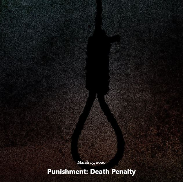 BLOG PUNISHMENT DEATH PENALTY MAR 15 2020