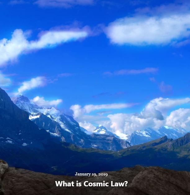 BLOG WHAT IS COSMIC LAW 2019 002